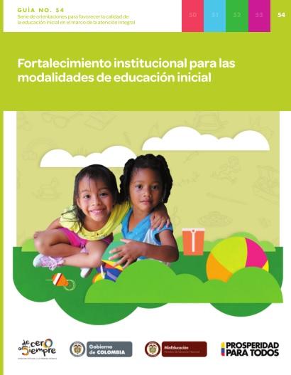 Guias ministerio de educaci n nacional de colombia for Programa curricular de educacion inicial