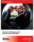 Orientaciones Pedagógicas para la Filosofía en la Educación Media