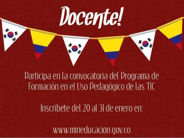 Mineducaci n abre convocatoria para que docentes de for Convocatoria docentes 2016 ministerio de educacion