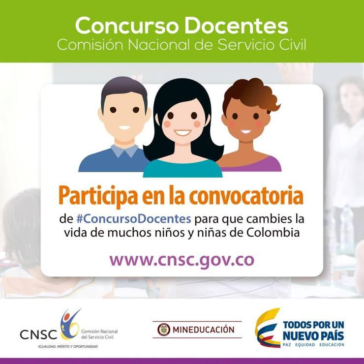 Ministerio de educaci n y comisi n nacional del servicio for Concurso de docentes 2016
