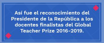 Icono Teacher Prize