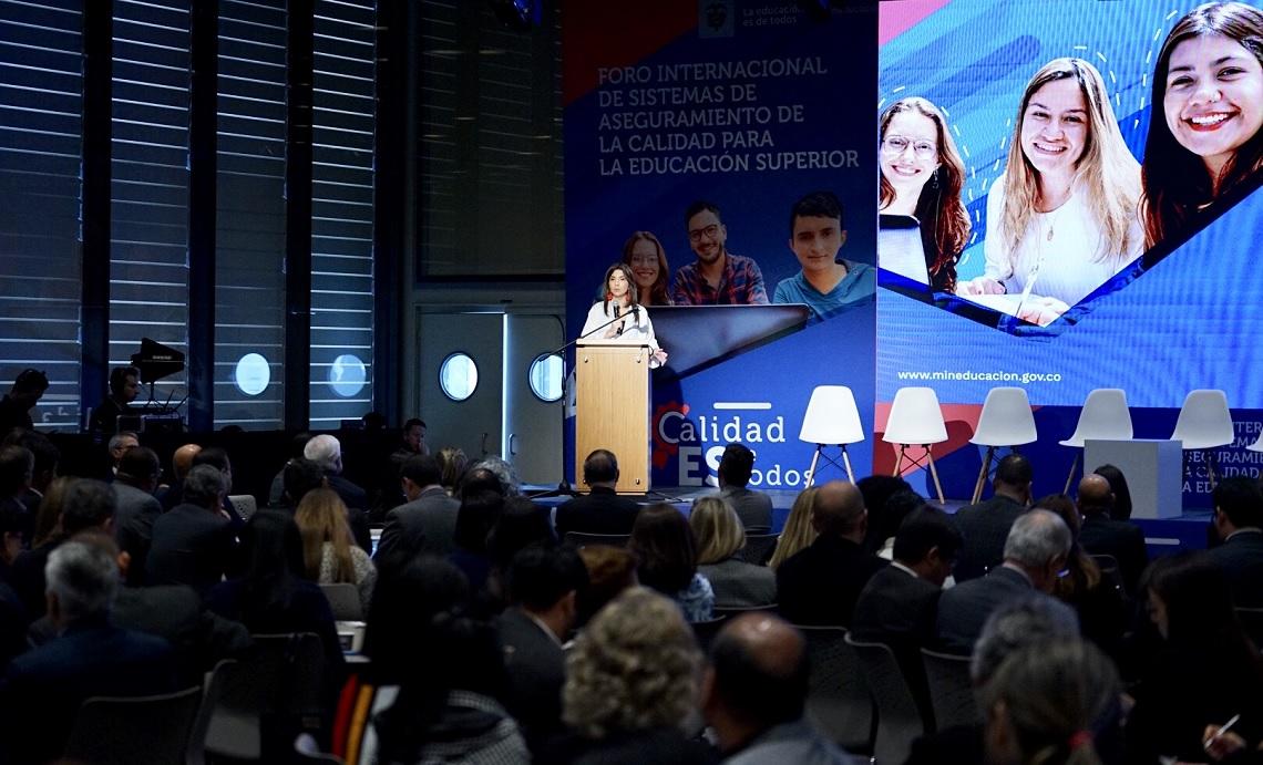 Foro Internacional de Sistemas de Aseguramiento de la Calidad en Bogotá