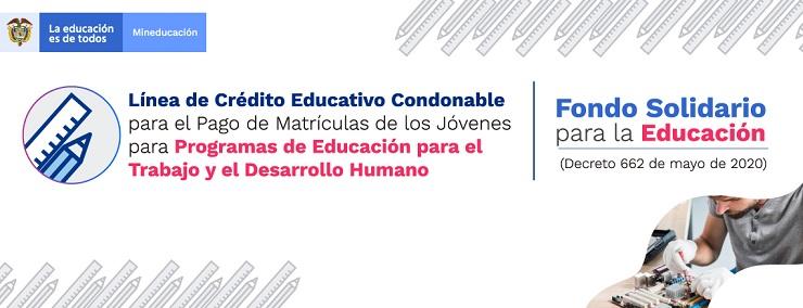 Gobierno Nacional abre convocatoria que contempla apoyos financieros para los jóvenes en Educación para el Trabajo y el Desarrollo Humano